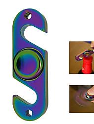 Радуга рука прядильная игрушка с бутылкой открывалка гироскопа стресс помощи наконечник игрушка скромный