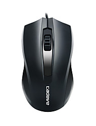 Simple type wired bureau souris 005
