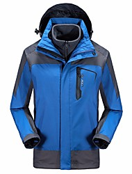 Men's 3-in-1 Jackets Quik Dry High Breathability (>15,001g) Wearproof water-resistant Anti-Mosquito Wind Proof Pants/Trousers/Overtrousers