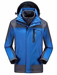 Муж. Куртки 3-в-1 Быстро сохнет Высокая воздухопроницаемость (> 15 001 г) Износостойкий водостойкий Защита от комаров Ветроустойчивый