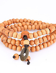 Men's Strand Bracelet Wrap Bracelet Jewelry Natural Fashion Wood Irregular Jewelry For Special Occasion Gift Sports