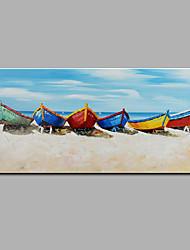 Peint à la main Paysage Format Horizontal,Moderne Un Panneau Peinture à l'huile Hang-peint For Décoration d'intérieur
