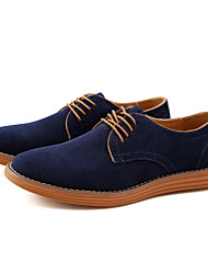 Men's Shoes Leather Suede Spring Summer Fall Winter Bullock shoes Formal Shoes Fashion Boots Oxfords Walking Shoes Split Joint For