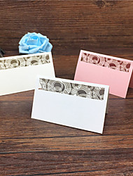 40pcs Laser cut Wedding Party Table Name Place Cards Favor Decorwedding decorationwedding favors and giftswedding gift