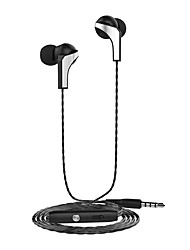 Langsdom R29 Headphones Metal 3.5MM Headphones Stereo Headphones And IPhone HTC Millet Adjust Microphone Volume