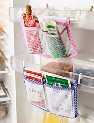 Creative Can Be Stored in the Net Bag Multi-purpose Refrigerator Grid Storage Bag