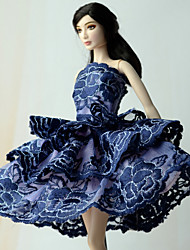 Princess Dress For Barbie Doll Dresses For Girl's Doll Toy