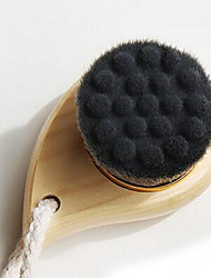 Bath Brush Wooden Shower Bath Caddies Ultrafine Fiber Wool