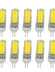 4W Luci LED Bi-pin T COB 350-400 lm Bianco caldo Bianco V 10