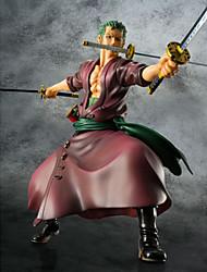 Аниме Фигурки Вдохновлен One Piece Roronoa Zoro ПВХ 23 См Модель игрушки игрушки куклы