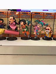 Figures Animé Action Inspiré par Dragon Ball Son Goku PVC 8 CM Jouets modèle Jouets DIY