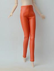 Колготки Искусственная кожа Другие сувениры Для Кукла Барби Брюки Для Девичий игрушки куклы