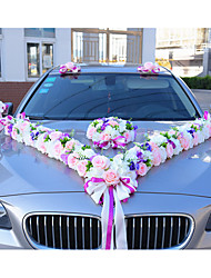 Luxury Floral Wedding Car Decoration