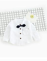 bebê Camisa Cor Única