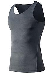 Men's Running Tank Baselayer Sleeveless Fitness, Running & Yoga Compression Clothing Tank for Yoga Running/Jogging Exercise & Fitness
