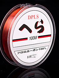 100M / 110 Yards Monofilamento Lenza 0.105 mm Per Pesca di mare Pesca di acqua dolce Pesca dilettantistica