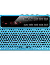 PHILIPS SBM120 Speaker FM Radio TF Card MP3 USB