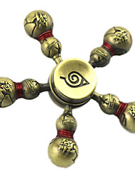 Inspired by Naruto Hatake Kakashi Gaara Fidget Spinner Anime Cosplay Accessories Zinc alloy