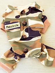Собака Толстовка Одежда для собак На каждый день Полиция/армия