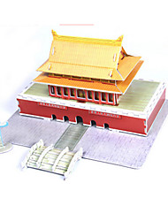 Jigsaw Puzzles DIY KIT 3D Puzzles Building Blocks DIY Toys Famous buildings Chinese Architecture Architecture High Quality Paper