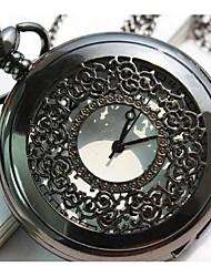 Homens Relógio de Bolso Automático - da corda automáticamente Lega Banda Vintage Marrom