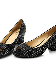Damen Schuhe Echtes Leder Nappaleder Frühling Komfort Sandalen Für Normal Weiß Schwarz Rosa