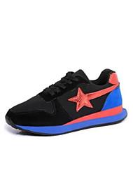 Da donna Sneakers Comoda PU (Poliuretano) Estate Casual Comoda Black / Blue White/Blue Piatto