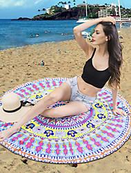 Drap de plage Haute qualité 100 % Polyester Serviette