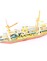 Jigsaw Puzzles DIY KIT 3D Puzzles Building Blocks DIY Toys Warship Ship High Quality Paper
