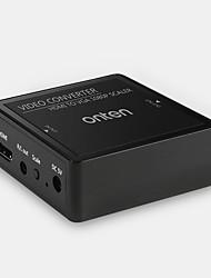 HDMI 1.4 Conversor, HDMI 1.4 to VGA Conversor Fêmea-Fêmea