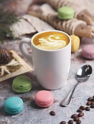 Straight Body Matte Mark Cerami Cup Home Creative Coffee Cup
