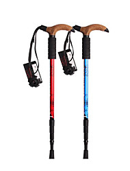 3 Nordic Walking Poles 110cm (43 Inches) Damping Durable Aluminum Alloy 6061