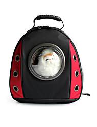 Gato Cachorro Tranportadoras e Malas Animais de Estimação Transportadores Portátil Respirável Sólido Estampa Colorida Vermelho Verde