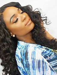 Laço perucas dianteiras solta onda remy cabelo nodificado nó 100% cabelo humano com cabelo natural sem glueless
