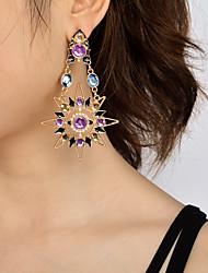 Femme Boucle d'oreille Original Pendant Mode Personnalisé euroaméricains Bijoux Fantaisie Imitation de perle Acrylique Soleil Bijoux Pour