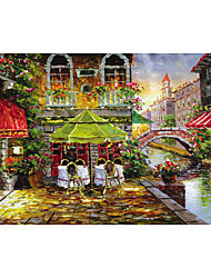 Jigsaw Puzzles Jigsaw Puzzle Building Blocks DIY Toys Dome House Flower Bolster Wooden