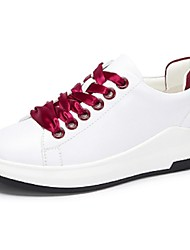 Camel Women's Sneakers Comfort Casual Low Heel Shoes Color White and Green/RedWhite