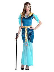 Une Pièce/Robes Déesse Costumes égyptiens Cosplay Fête / Célébration Déguisement d'Halloween Rétro Robe Ceinture CoiffuresHalloween
