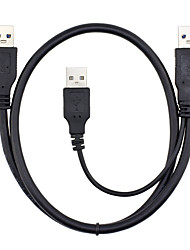 ULT-unite® USB 3.0 Cable USB 3.0 to USB 3.0 Cable Male - Male 0.6m(2Ft) Y Style Cable