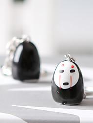 Saco / telefone / chaveiro charme gato cartoon brinquedo cerâmica anime