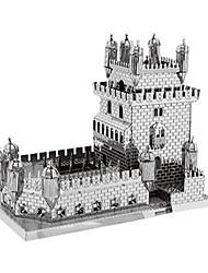 Puzzles Kit de Bricolage Puzzles 3D Puzzles en Métal Blocs de Construction Jouets DIY  Rectangulaire Aluminium