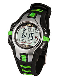 Kid's Fashion Watch Digital Water Resistant / Water Proof Noctilucent Rubber Band Black