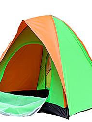 2 Personen Zelt Einzeln Falt-Zelt Einzimmer Camping Zelt 1000-1500 mm Terylen Silber Band Schnell trocken Belüftung Klappbar-Camping &