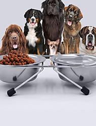Gato Perro Cuencos y Botellas de Agua Mascotas Cuencos y AlimentaciónImpermeable Ajustable/Retractable Portátil Doble Lado Plegable