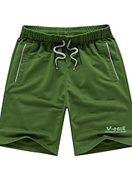 Per uomo Pantaloncini da corsa Casual Pantaloncini /Cosciali per Corsa Esercizi di fitness Tessuto sintetico L XL XXXL XXL-XXXL