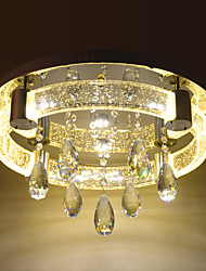 Contracted crystalline light bubble column sitting room light absorb dome light round the living room light leds bedroom light English translation