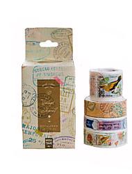 DIY Paper Print Diary Decoration Stickers 1Set