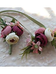 Свадебные цветы Бутоньерки Свадебное белье Спандекс Около 3 см