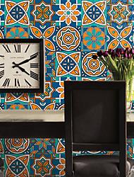Tile Wall Stickers The Living Room Bedroom Self-Adhesive Waterproof PVC Veneer