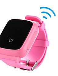 Kid's Smart Watch Fashion Watch Digital Silicone Band Orange Pink